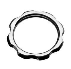 Gear Head Metal Cock Ring- 1.75 inch - Diddleworld