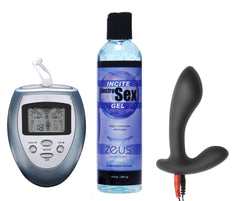 Electrify Your Prostate Silicone Estim Kit - Diddleworld