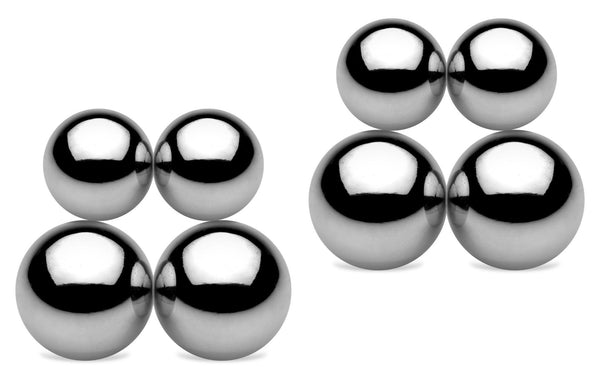 Magnus Metal Magnetic Orbs Ultimate Set (Use on Nipples, Labia & Penis)