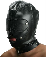 Strict Leather Premium Locking Slave Hood- Small - Diddleworld