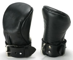 Strict Leather Deluxe Padded Fist Mitts- ML - Diddleworld