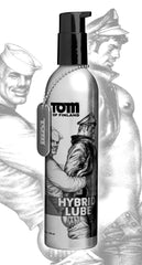Tom of Finland Hybrid Lube- 8 oz - Diddleworld