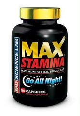 MaxStamina - Maximum Sexual Stimulant (30 Capsules) - Diddleworld
