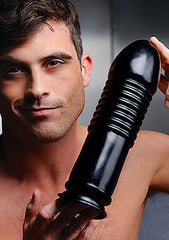"10"" Smooth Head Dildo Plug With Suction Base - Diddleworld.com - 1"