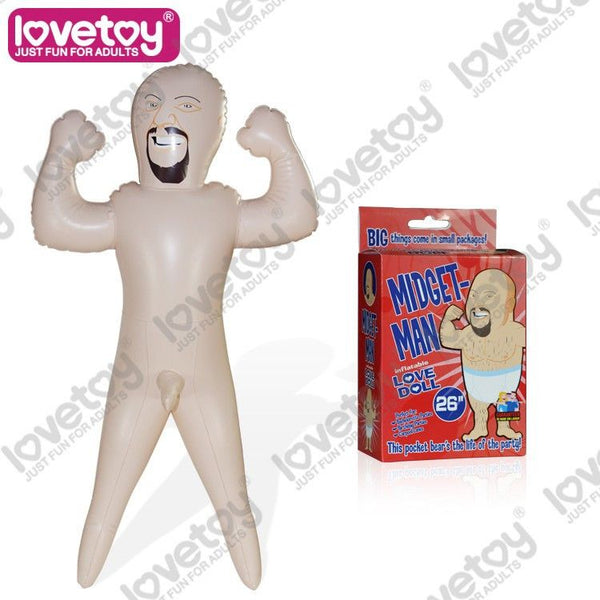 Inflatable Blow Up Hot Sexy Male Doll with Cock - Diddleworld.com - 1