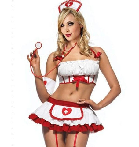 Little Naughty Nurse Costume - Diddleworld.com - 1