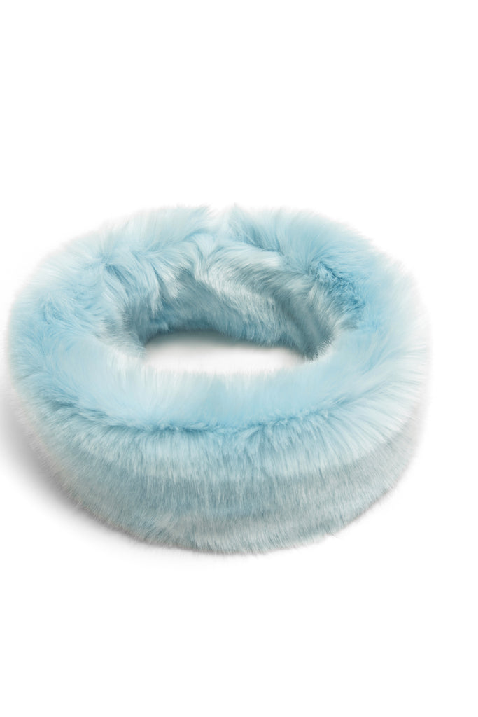 CLAVA - Blue Heaven Faux Fur Headband
