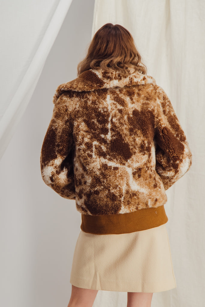 ANDREA - Sustainable faux fur bombers