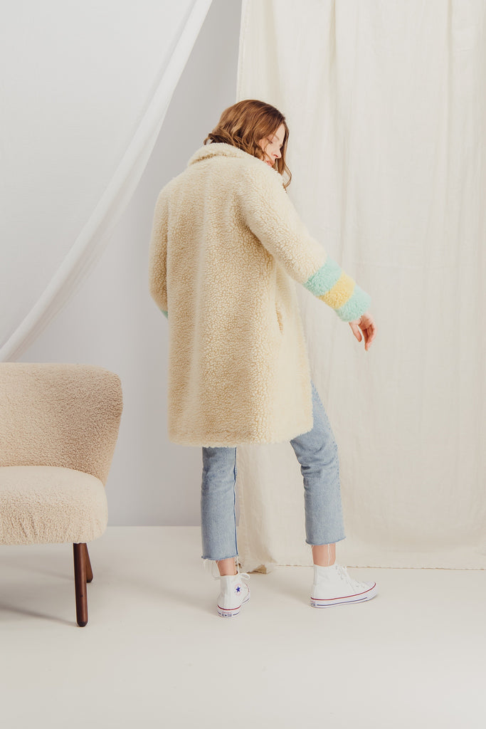 ORLANE - Sustainable faux fur coat