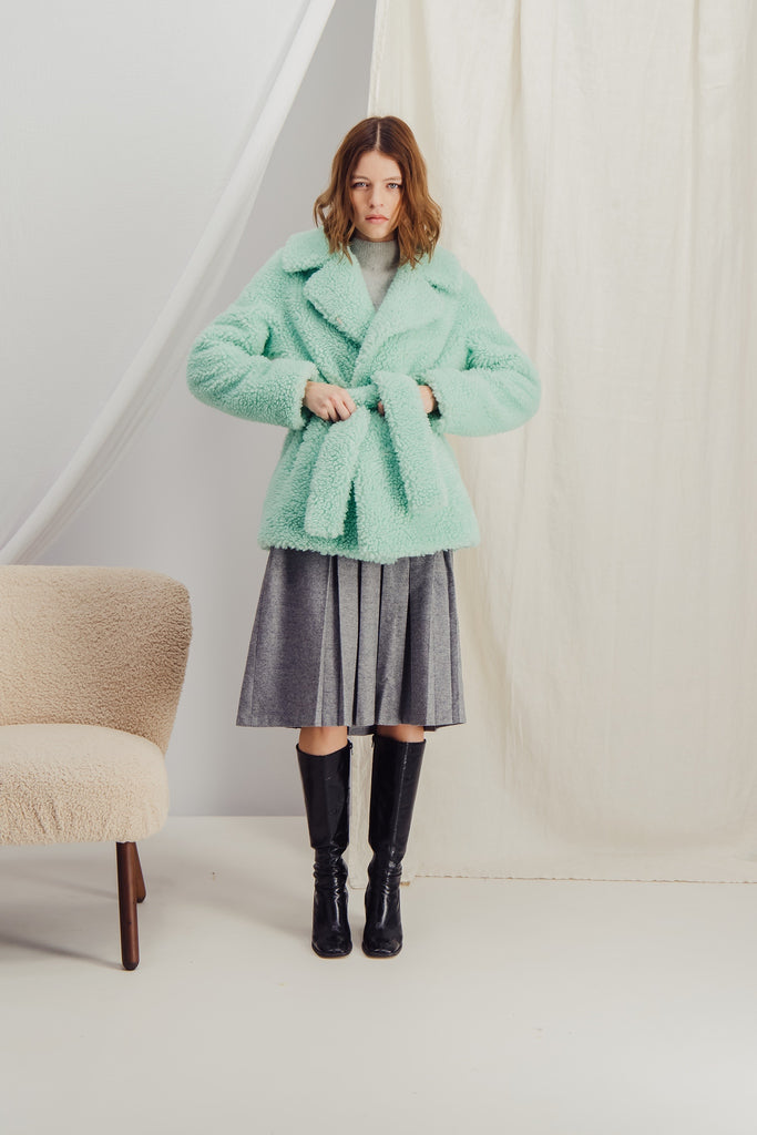 HELOISE - Sustainable faux fur coat