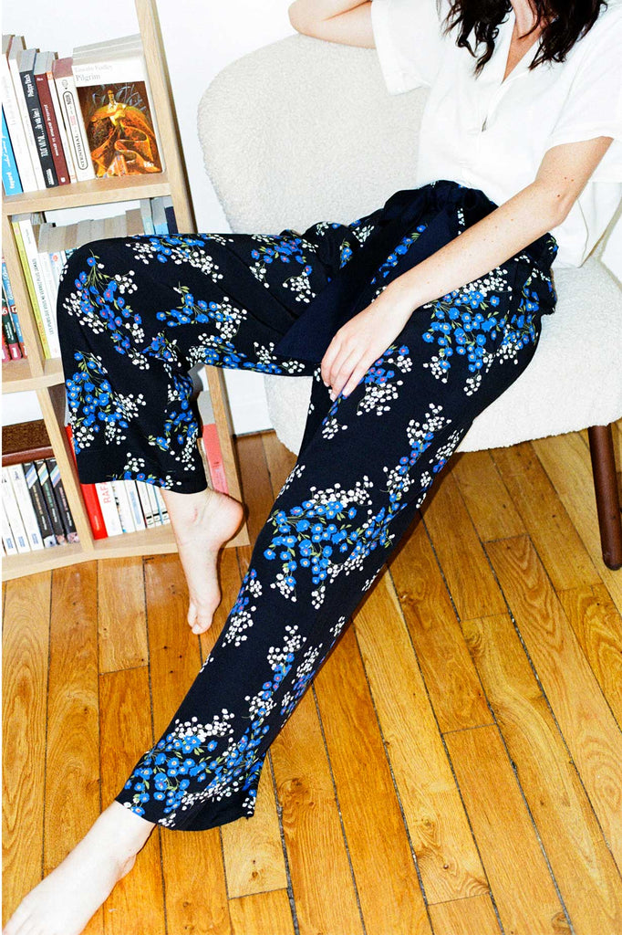 LOUISE - Flowers large pant