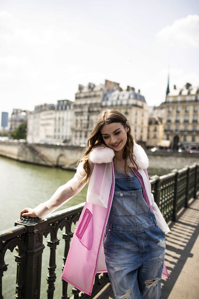 CAMILLE - Pink Raincoat