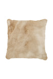 ALMOND PILLOW - Beige faux fur