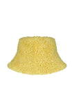 CLAUDE BOB - Sustainable Yellow faux fur Hat