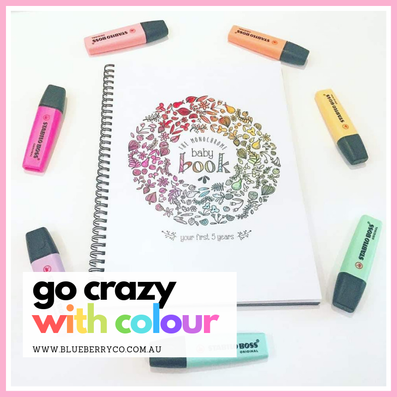 Go Crazy with Colour!