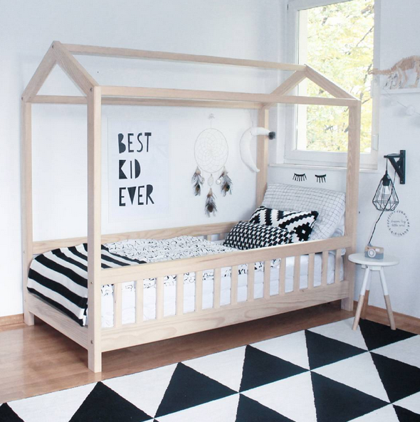Monochrome- the trend that encourages your childs individual style
