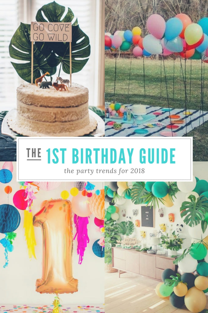 First Birthday Trends for 2018