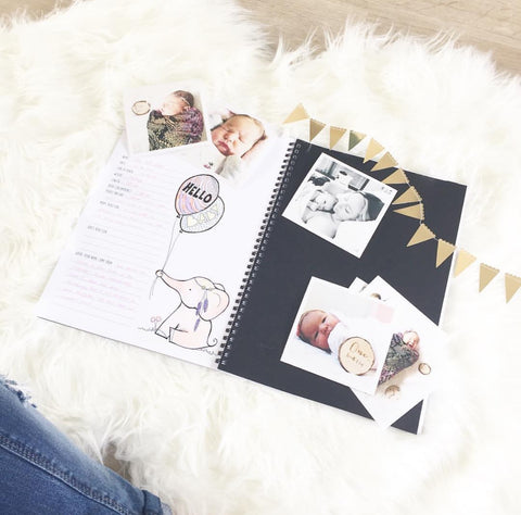 The Monochrome Baby Book - modern fun stylish
