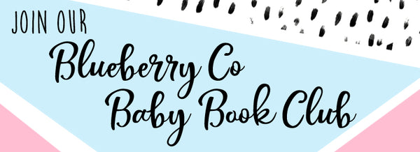 Join the Blueberry Co Baby Book Club on Facebook - tips tricks and pens to use when colouring in your Baby Book