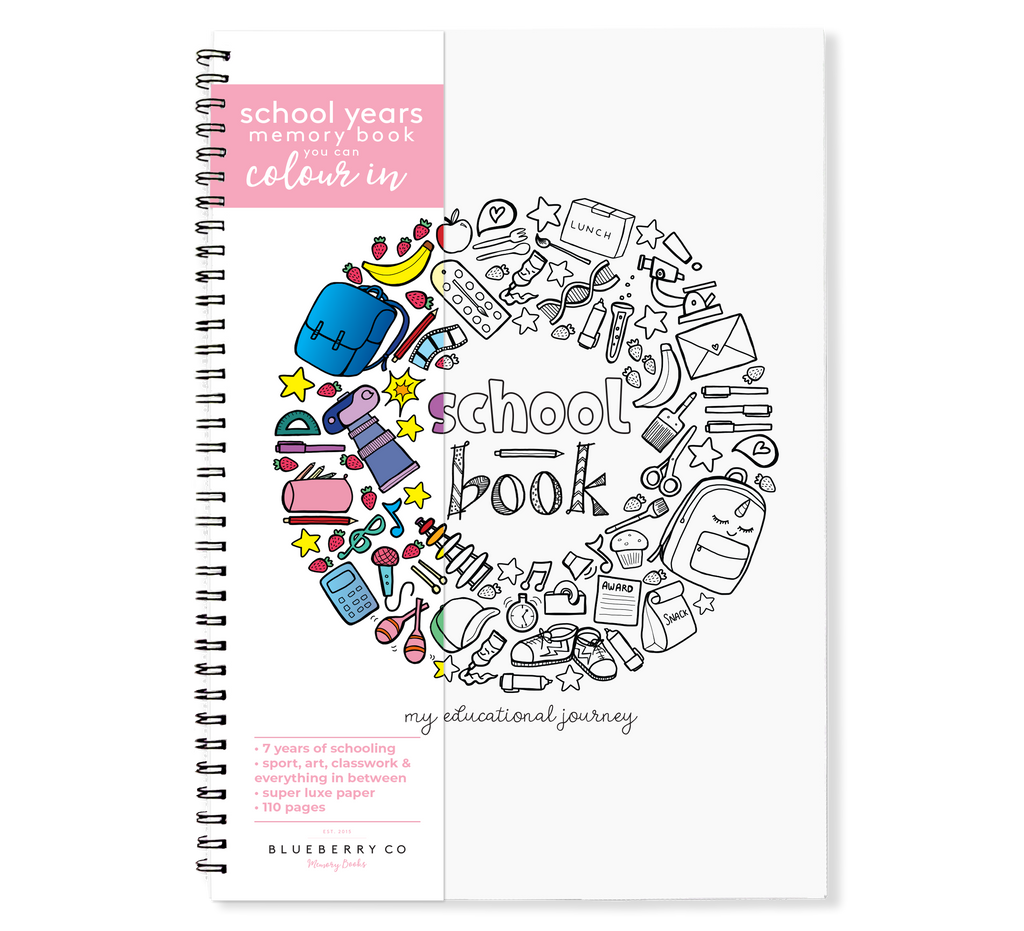 The School Book | Blueberry Co