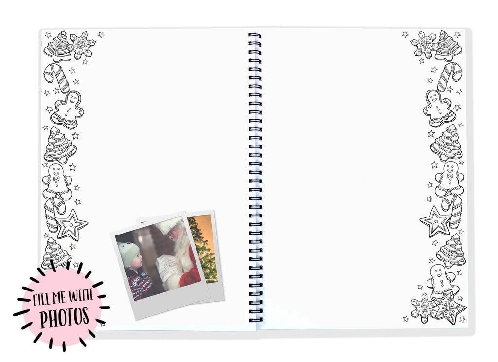 Blueberry Co Christmas Book- 12 years of Christmas memories in one Christmas Album and memory book!