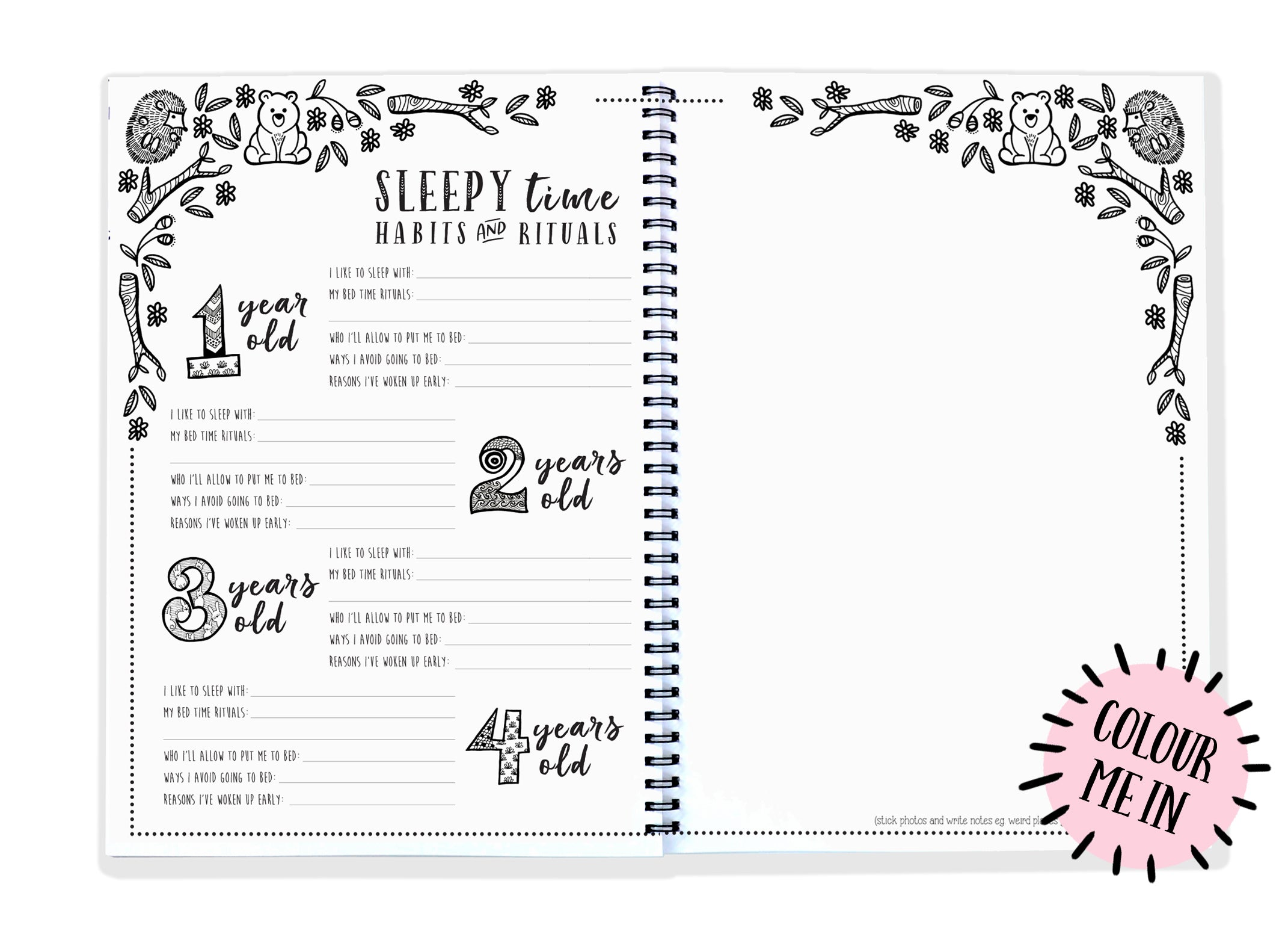 Blueberry Co - The Monochrome Toddler Book