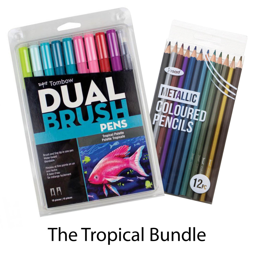 Tropical Colouring Set