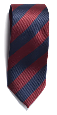 Regimental stripe - 603 Navy/wine