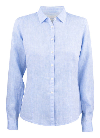 J.H&F Indigo Bow 33 Sky blue Woman