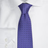 Dotted Tie - 806 purple/navy
