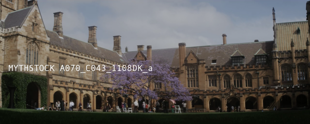 University of Sydney's Quadrangle, Day (Part 2) - Hand-held