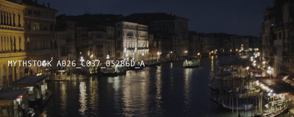 View of the Grand Canal at night from the Rialto Bridge (part 2)