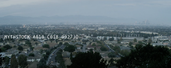 Los Angeles, View from Baldwin Hills, Dusk - Time-lapse