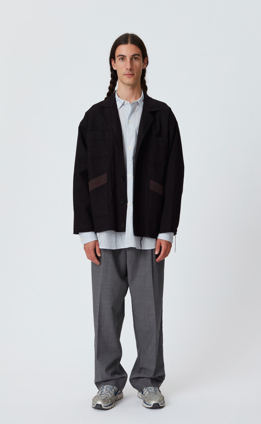 CARPENTER JACKET - BLACK