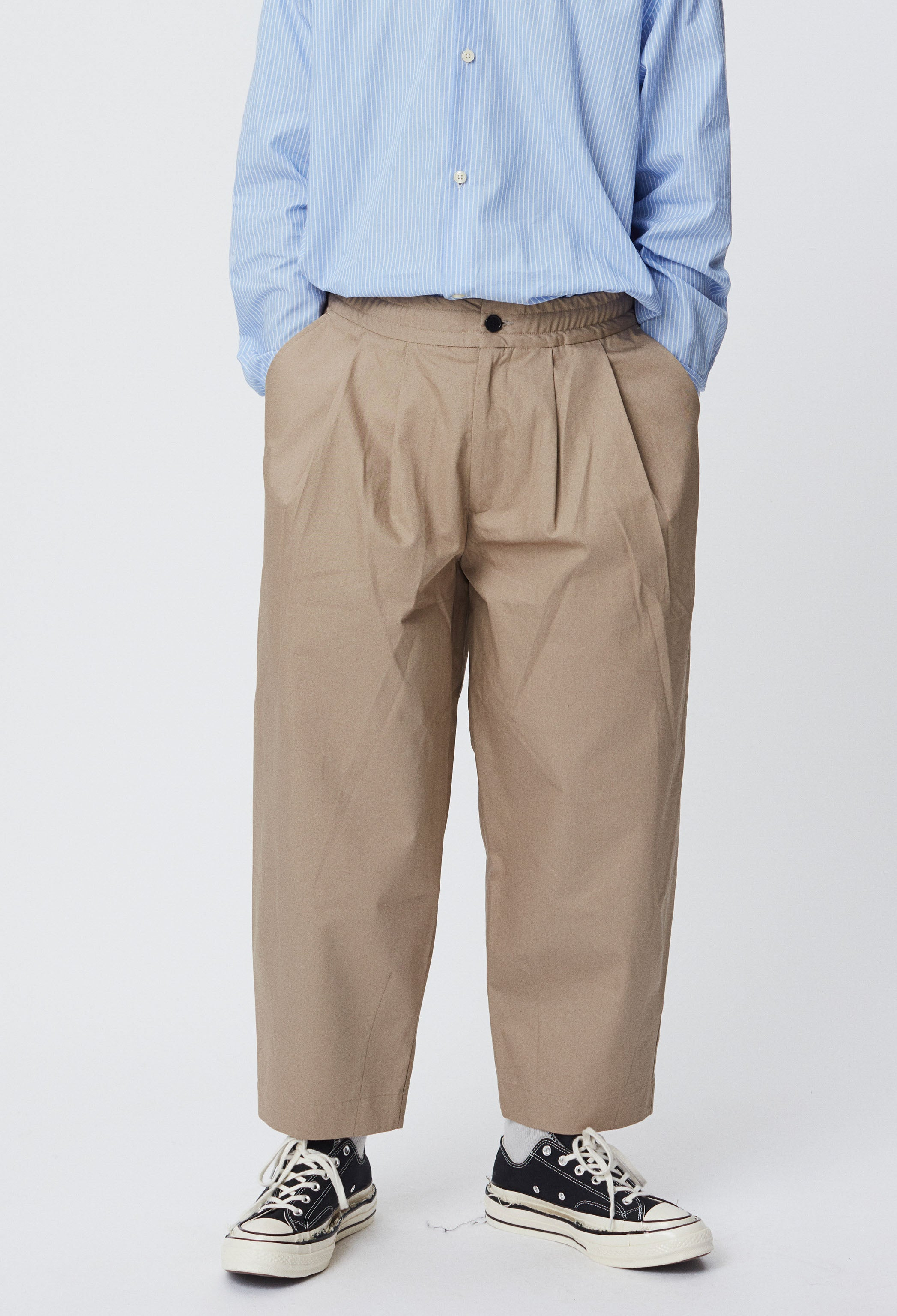 Case Trousers - Beige
