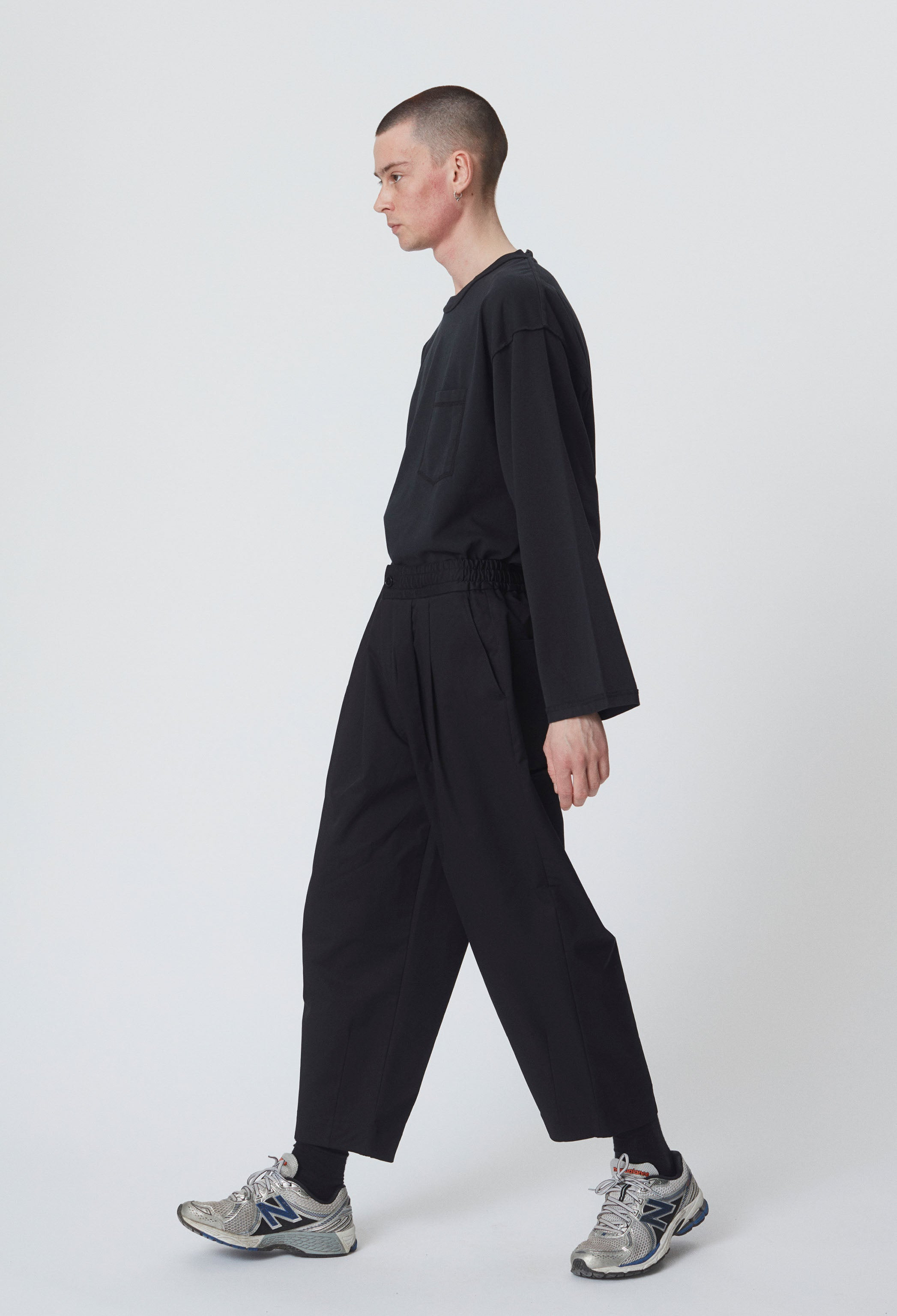 CASE TROUSERS - BLACK