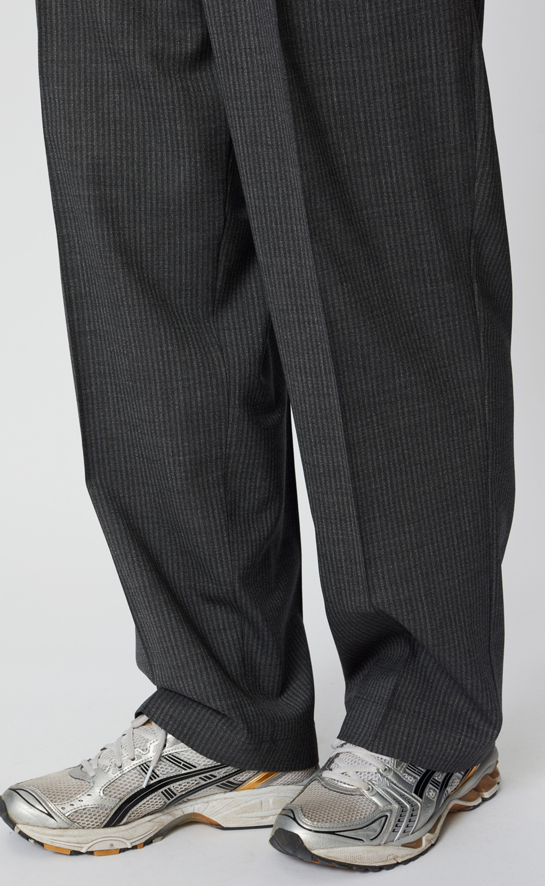 CLASSIC TROUSERS - GREY STRIPE
