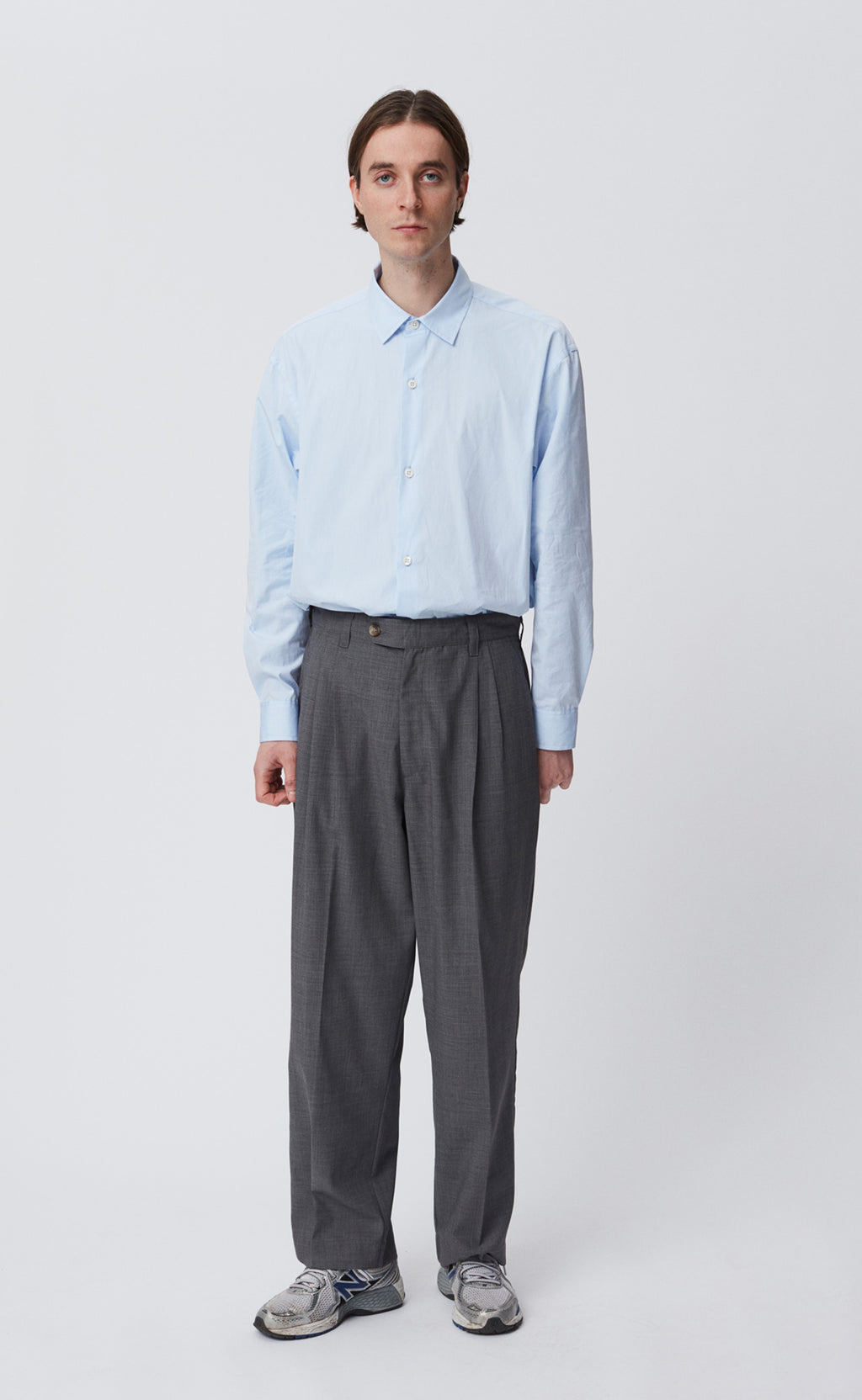 CLASSIC TROUSERS - GREY