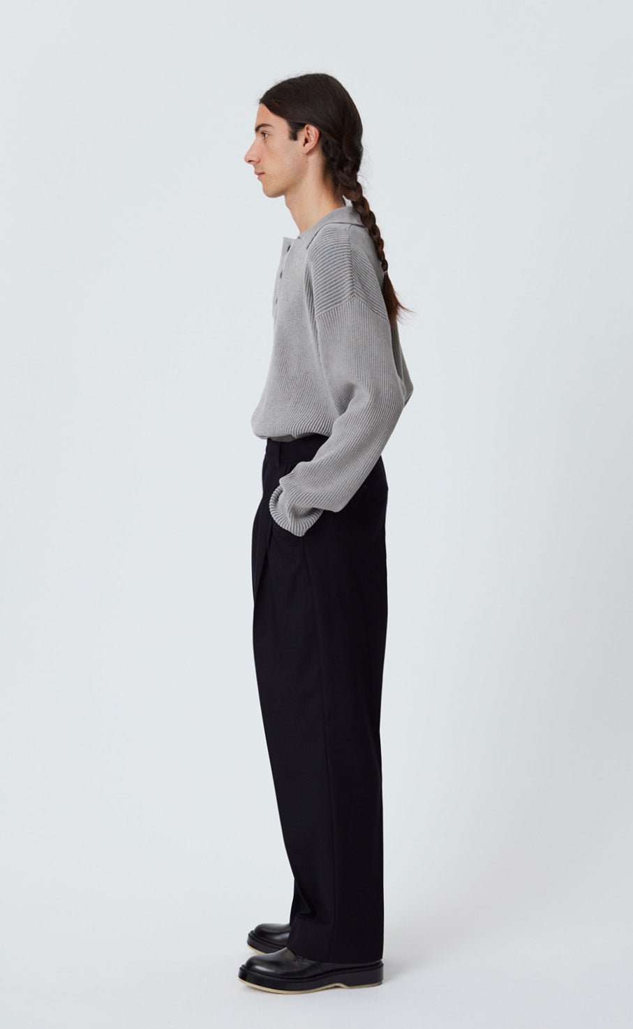 CLASSIC TROUSERS - DARK NAVY