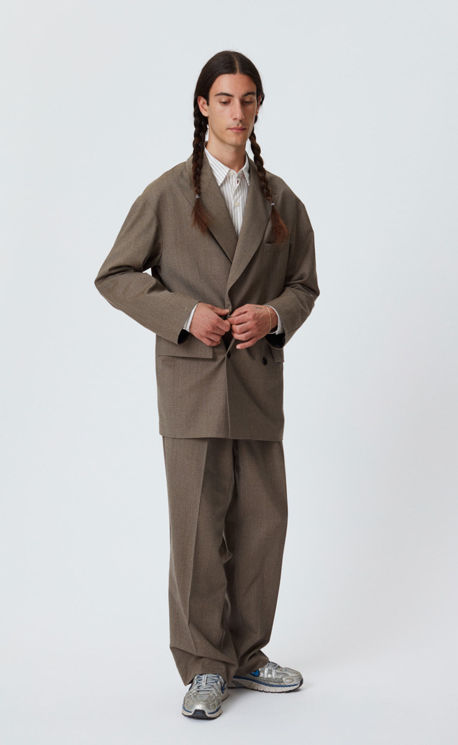 DB EASY BLAZER - BROWN
