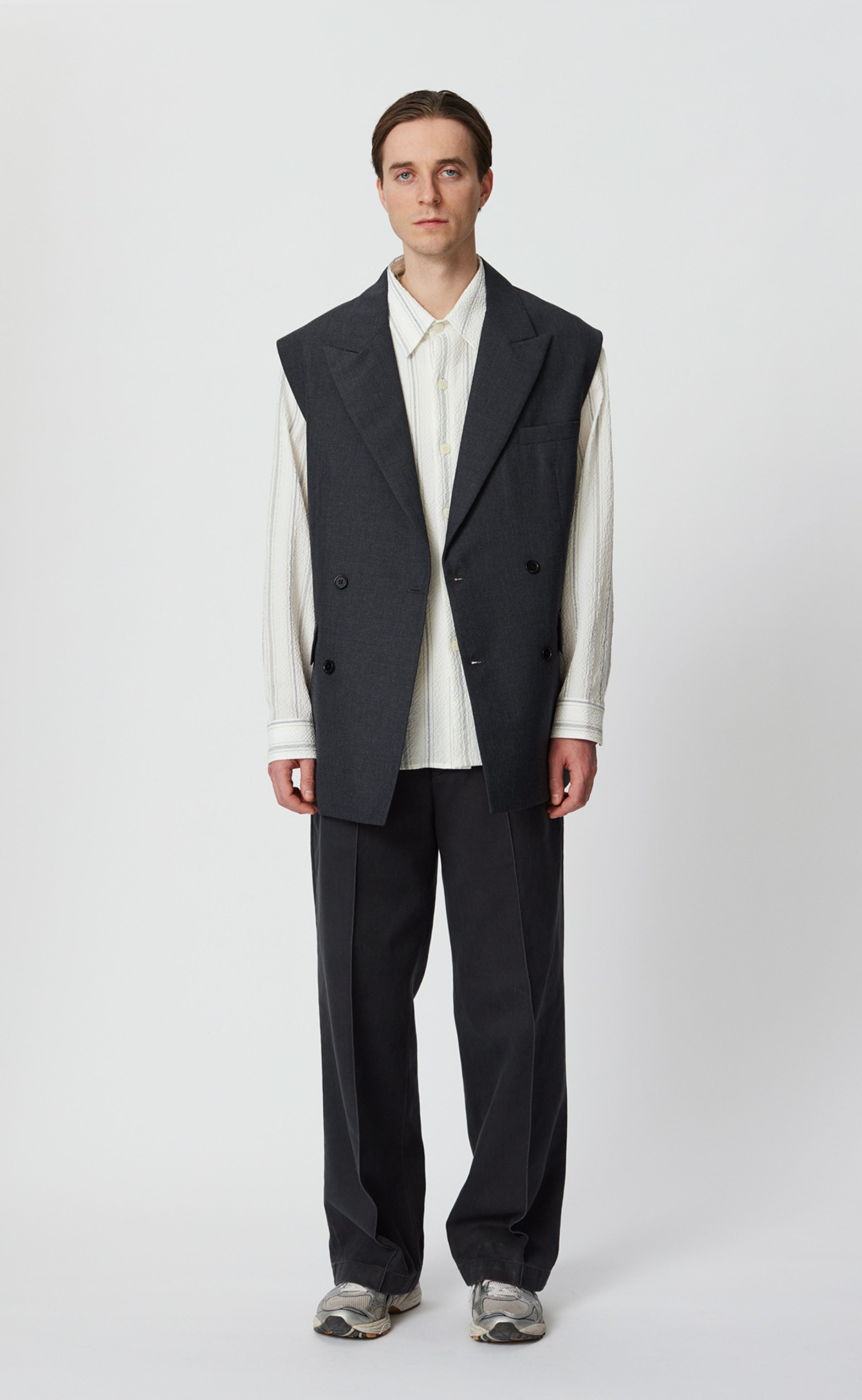 DB EASY BLAZER SL - DARK GREY