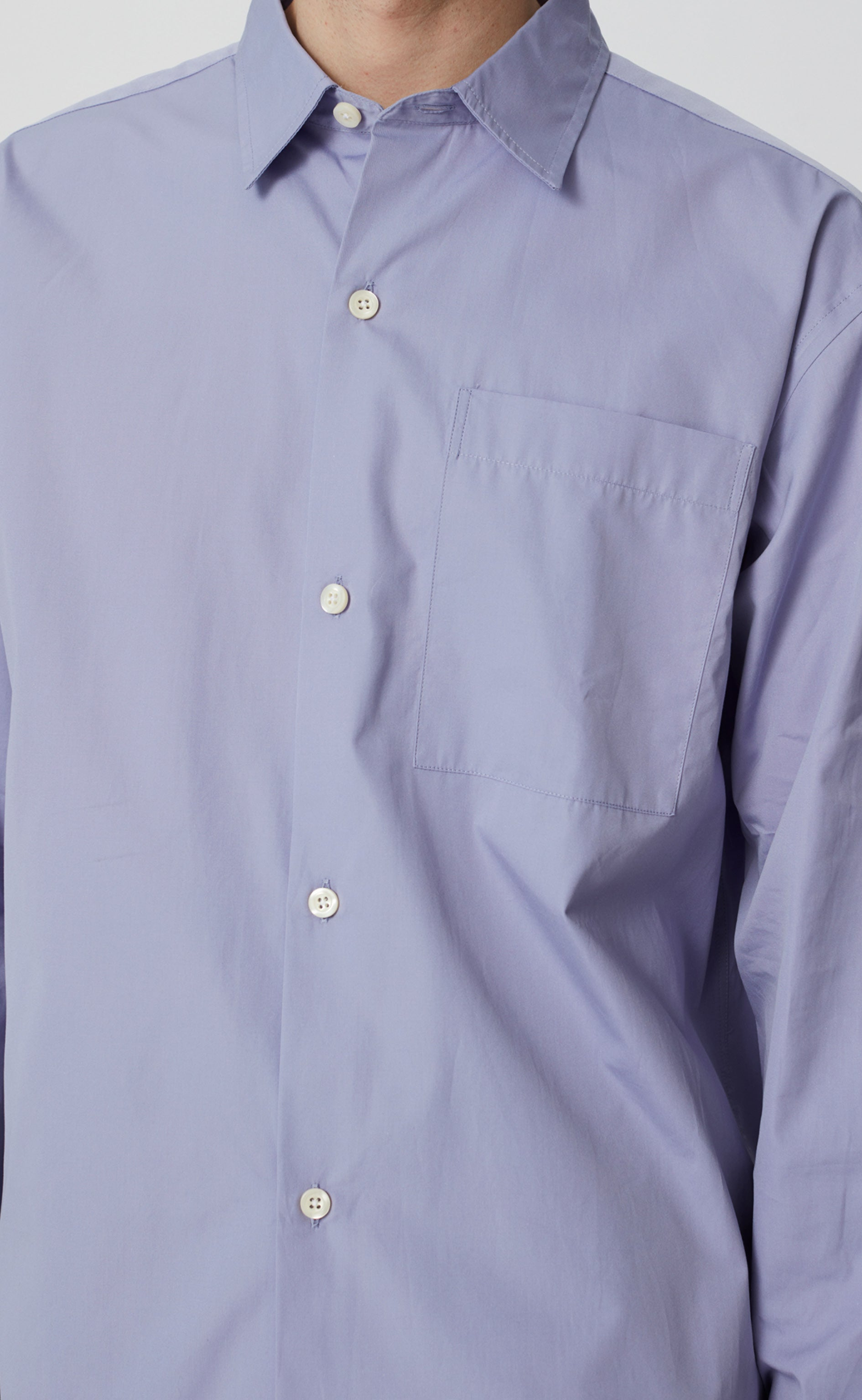 DISTANT SHIRT - PERIWINKLE