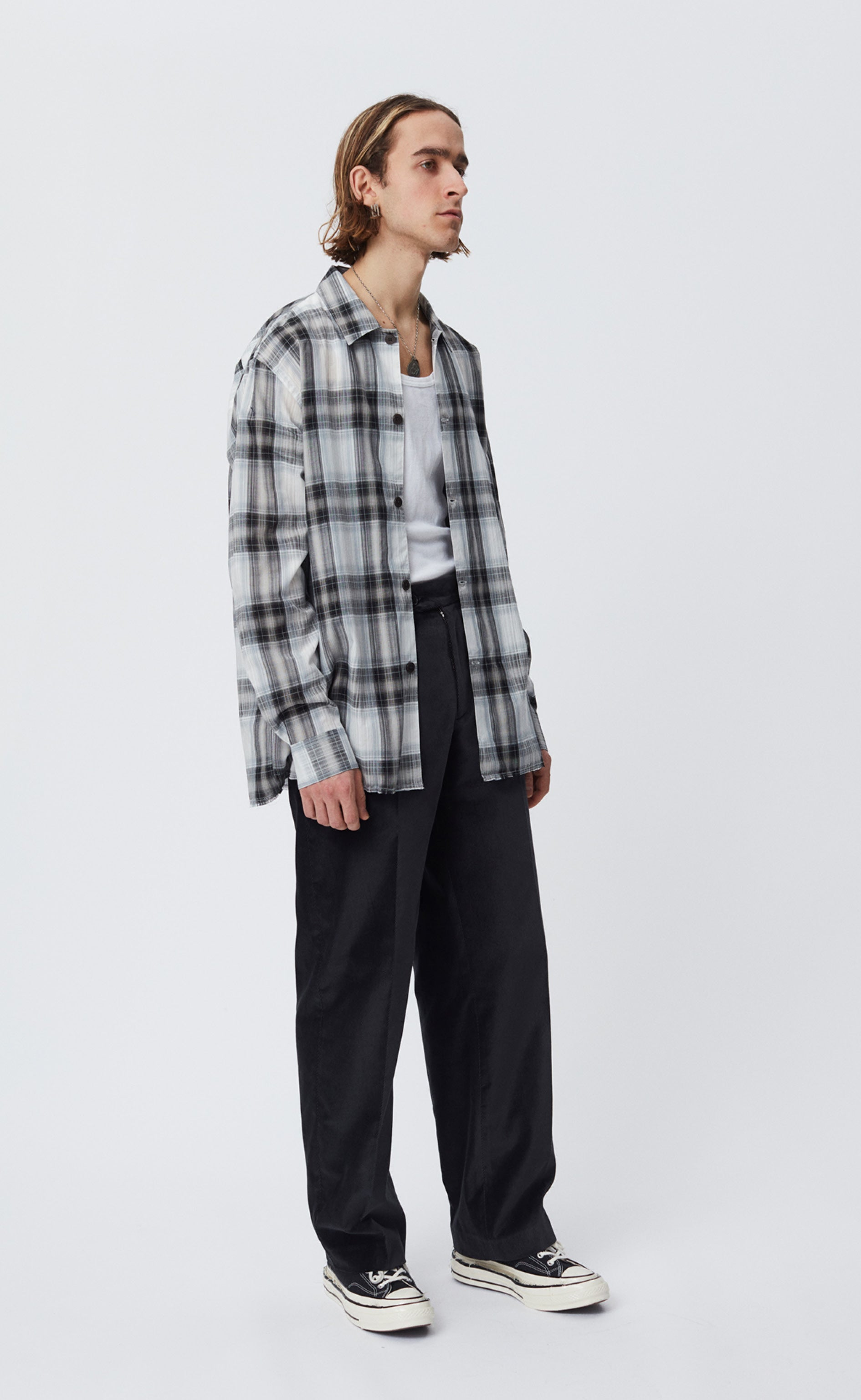 EXPO SHIRT - GREY CHECK