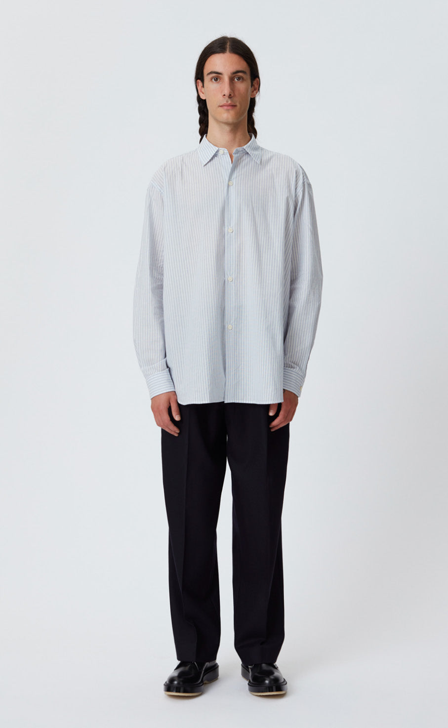 GENEROUS SHIRT - BLUE STRIPE