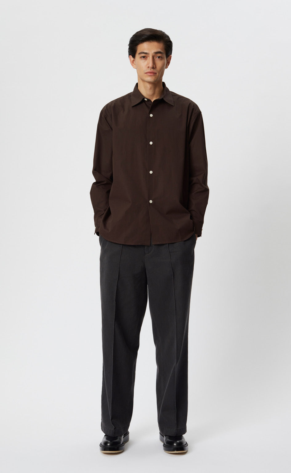 GENEROUS SHIRT - DARK BROWN
