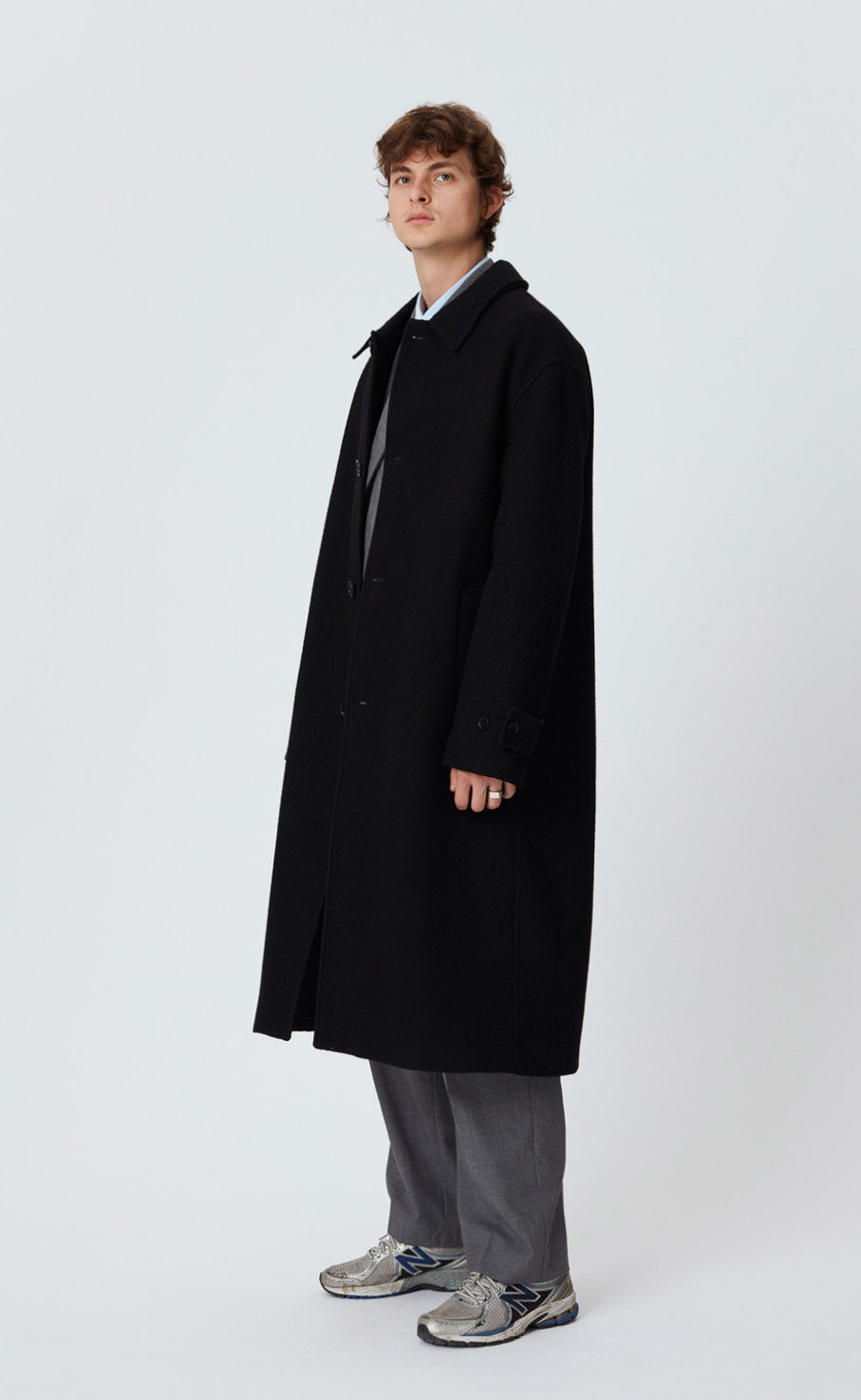 HOLLIS COAT - BLACK