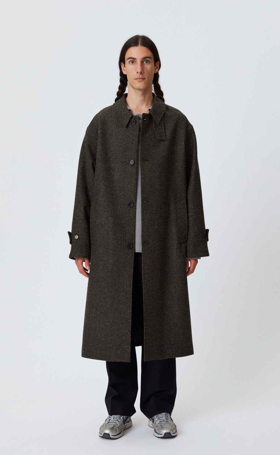 HOLLIS COAT - FORREST TWEED
