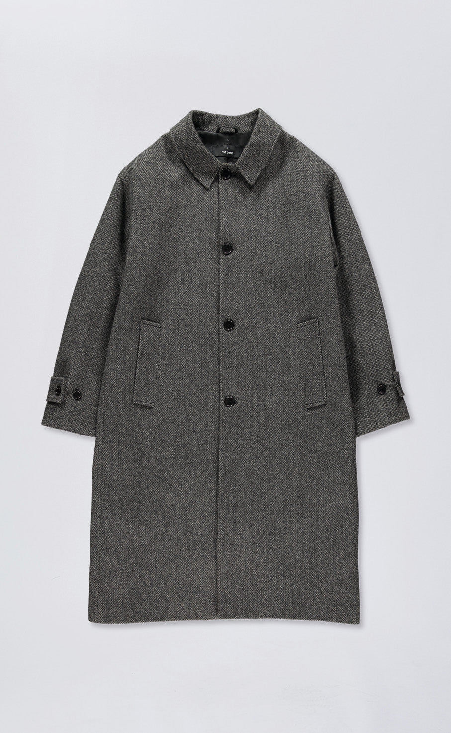 HOLLIS COAT - BLACK/BEIGE