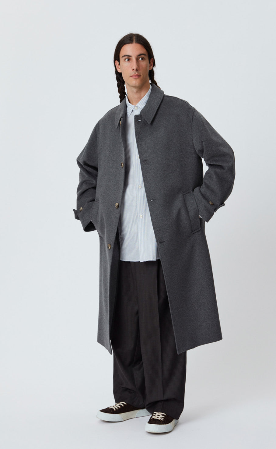 HOLLIS COAT - GREY