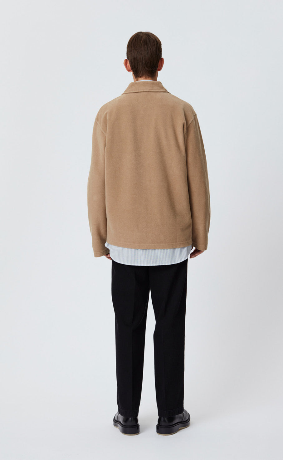 LUCEN ZIP SHIRT - TAN